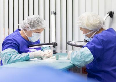Behandlung in der Praxis für Haartransplantation