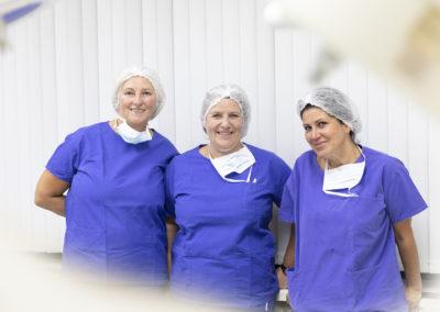 OP-Team der Praxis für Haartransplantation